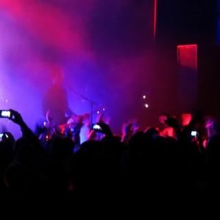 Rock Fans at Concert
