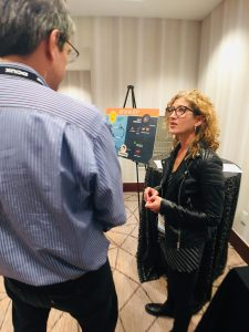 Jacqui Olkin at UXDC 2019 poster session